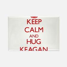 Keep Calm and HUG Keagan Magnets