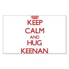 Keep Calm and HUG Keenan Decal