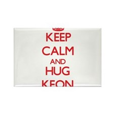 Keep Calm and HUG Keon Magnets