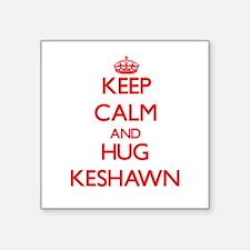 Keep Calm and HUG Keshawn Sticker