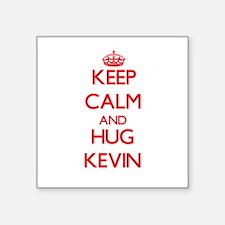 Keep Calm and HUG Kevin Sticker