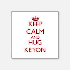 Keep Calm and HUG Keyon Sticker