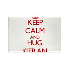 Keep Calm and HUG Kieran Magnets