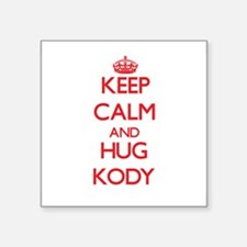 Keep Calm and HUG Kody Sticker