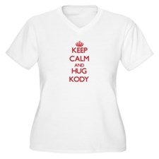 Keep Calm and HUG Kody Plus Size T-Shirt
