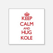 Keep Calm and HUG Kole Sticker