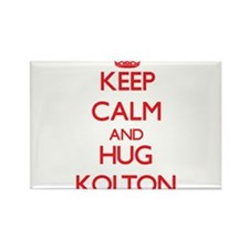 Keep Calm and HUG Kolton Magnets