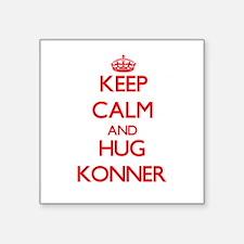 Keep Calm and HUG Konner Sticker