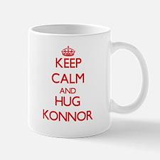 Keep Calm and HUG Konnor Mugs