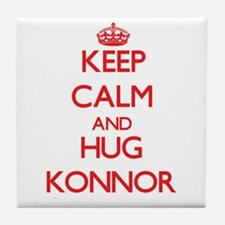Keep Calm and HUG Konnor Tile Coaster