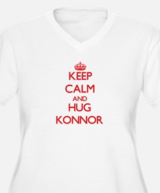Keep Calm and HUG Konnor Plus Size T-Shirt