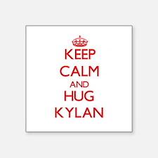 Keep Calm and HUG Kylan Sticker