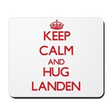Keep Calm and HUG Landen Mousepad
