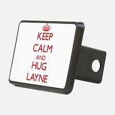 Keep Calm and HUG Layne Hitch Cover