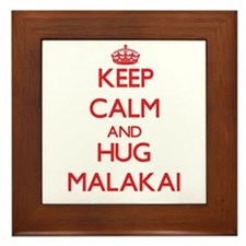 Keep Calm and HUG Malakai Framed Tile