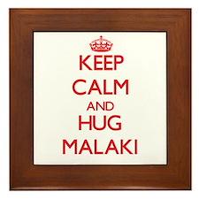 Keep Calm and HUG Malaki Framed Tile