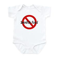 Anti Swedish Food Infant Bodysuit