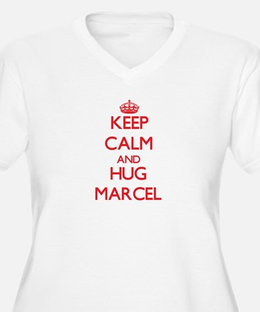 Keep Calm and HUG Marcel Plus Size T-Shirt
