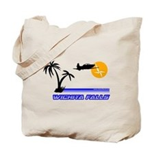 Wichita Falls Retro Tote Bag