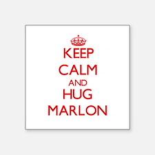 Keep Calm and HUG Marlon Sticker