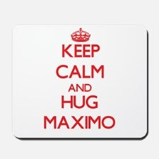 Keep Calm and HUG Maximo Mousepad