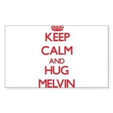 Keep Calm and HUG Melvin Decal