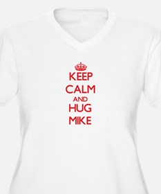 Keep Calm and HUG Mike Plus Size T-Shirt