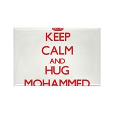 Keep Calm and HUG Mohammed Magnets