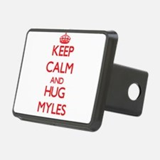Keep Calm and HUG Myles Hitch Cover