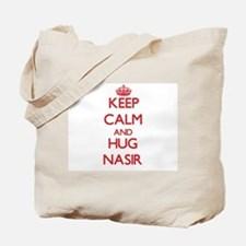 Keep Calm and HUG Nasir Tote Bag