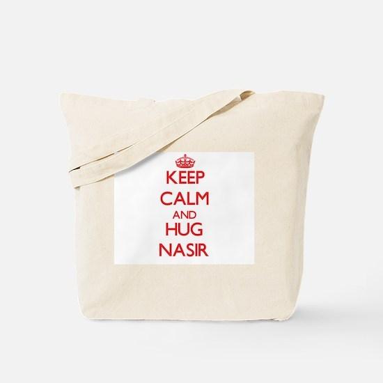 Keep Calm and HUG Nasir Tote Bag