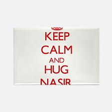 Keep Calm and HUG Nasir Magnets