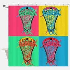Lacrosse BIG 4 Shower Curtain