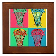 Lacrosse BIG 4 Framed Tile