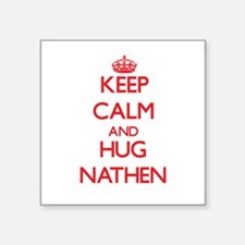 Keep Calm and HUG Nathen Sticker