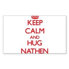 Keep Calm and HUG Nathen Decal