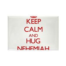 Keep Calm and HUG Nehemiah Magnets