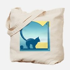 Cat in the Window Tote Bag