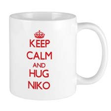 Keep Calm and HUG Niko Mugs