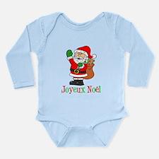 Joyeux Noel Santa Kids Body Suit