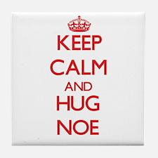 Keep Calm and HUG Noe Tile Coaster