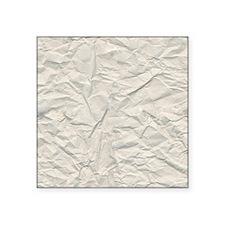Wrinkled Cream Paper Texture Sticker