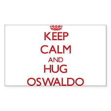 Keep Calm and HUG Oswaldo Decal