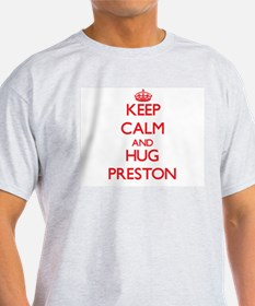 Keep Calm and HUG Preston T-Shirt