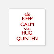Keep Calm and HUG Quinten Sticker