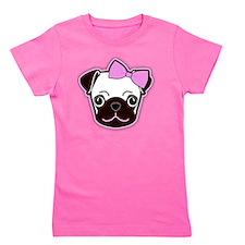 Hello Pug Girl's Tee