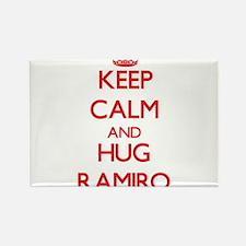 Keep Calm and HUG Ramiro Magnets