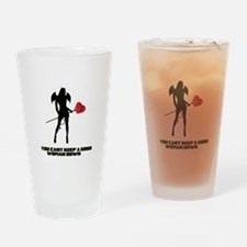 You Cant Keep a Good Woman Down Drinking Glass