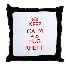 Keep Calm and HUG Rhett Throw Pillow