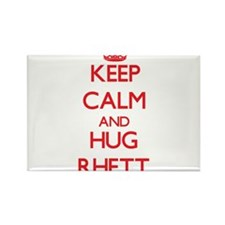 Keep Calm and HUG Rhett Magnets